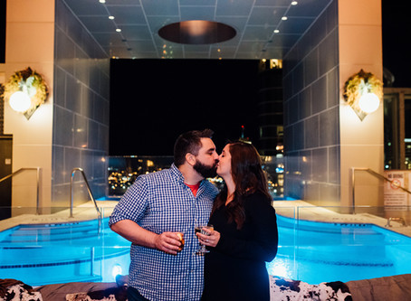 Proposal: Chelsey + Robert // L27 Rooftop Lounge