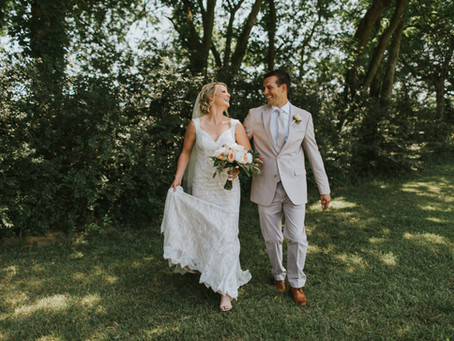 Wedding: Summer + John // Butler Farm