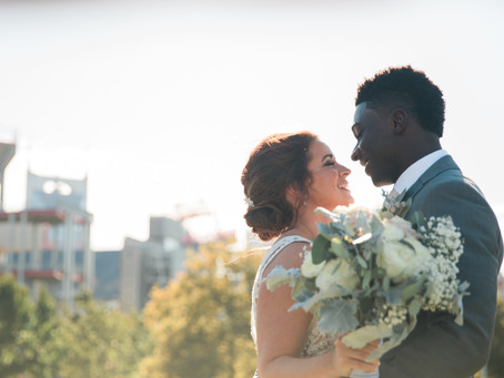 Wedding: Brianna + Joel // The Ink Building
