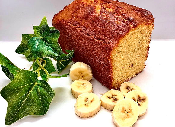 Cake gourmand à la banane SANS GLUTEN