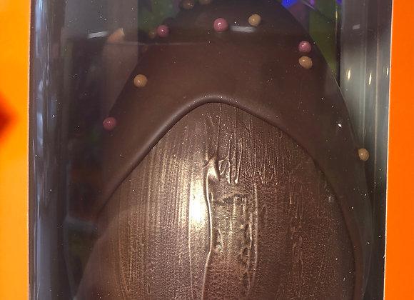 Oeuf de Pâques Noir  garni