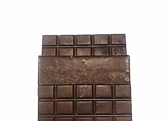 Trio de tablettes de chocolat noir épicés sans sucres   (150 grammes