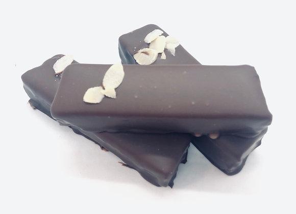 Pâte d'amande enrobé de chocolat Noir