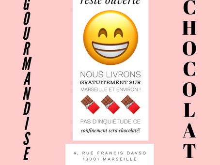 Un confinement chocolaté 🍫