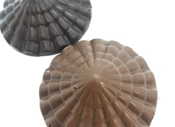 Duo de minis Dômes surprise chocolat noir & lait