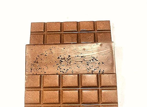 Trio de tablettes de chocolat au lait épicés sans sucres   (150 grammes)