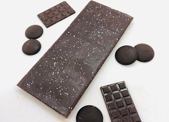 Tablette chocolat noir fleur de sel