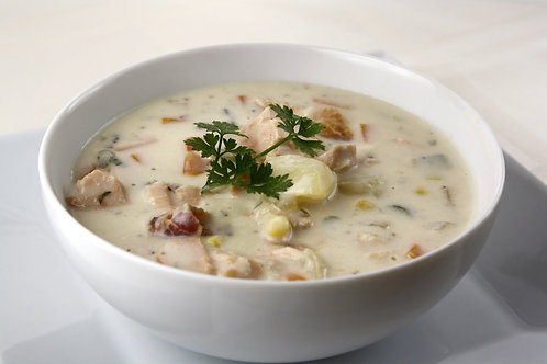 NW Smoked Salmon Chowder