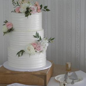 Buttercream Ripple Cake