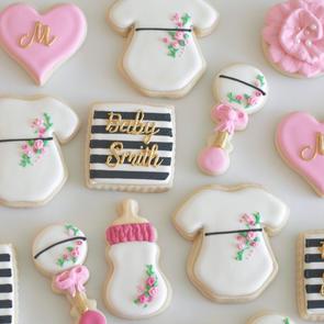 Baby Girl Chic Cookies