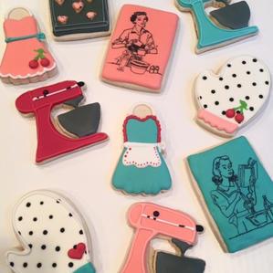 50's Housewife Cookies