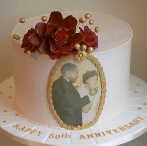 Photo Frame Cake