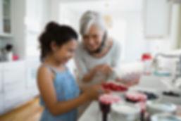cooking grandma
