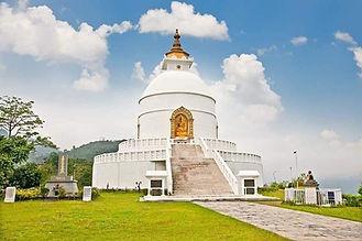 Pokhra Shanti Stupa | Motorcycle Escapades
