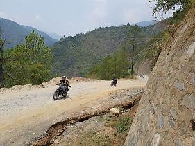 Kathmandu to Pokhra | Motorcycle Esapades