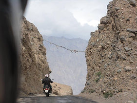 Leh to Leh Motorcycle Escapades