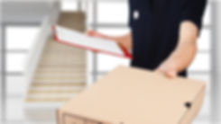 Man handing over a package