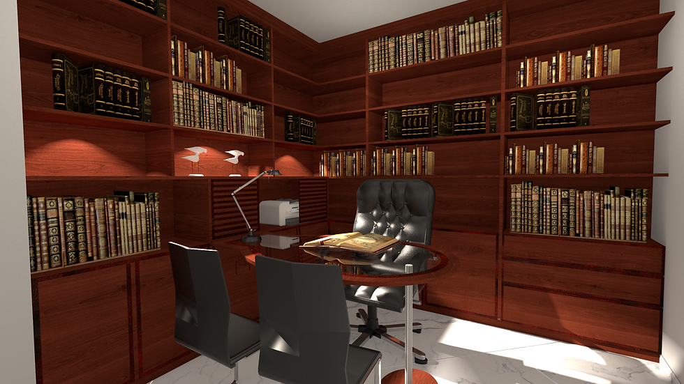 Office in Tel Arza vacation apartment.png