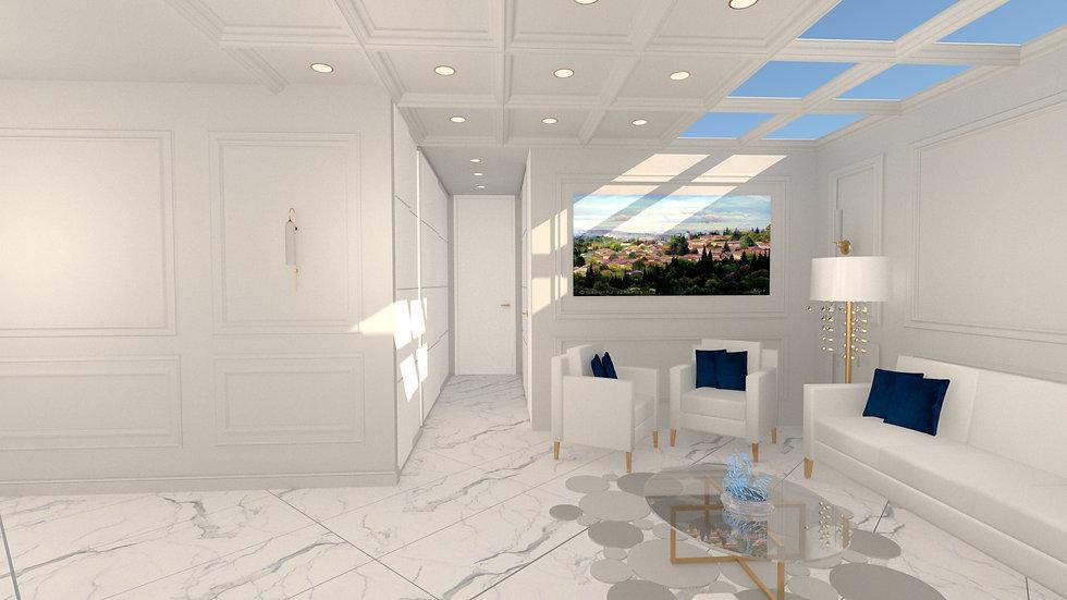 Stunning corridor in Tel Arza apartment