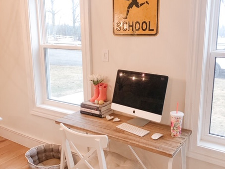 Home Organization or Decor Projects While WFH Part 1