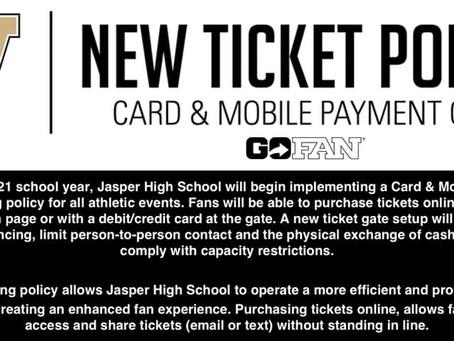 New ticketing procedures