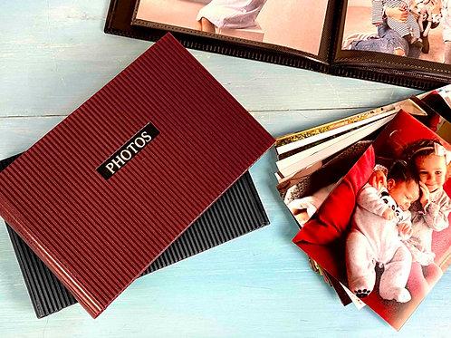 Álbum com 36 fotos impressas incluídas (10x15)