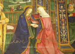 Lunette with the Visitation