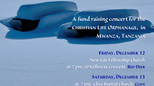 Christmas Fundraiser Concerts!
