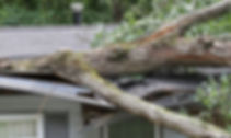 TORNADO DAMAGE TO A HOME