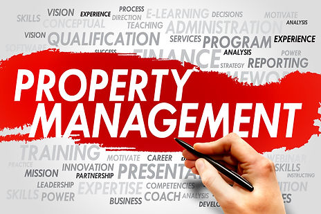 Property Management word cloud, business
