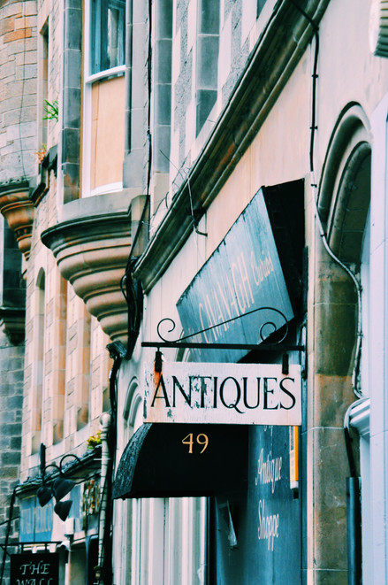 a city of antiques.