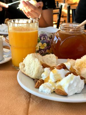 a greek breakfast.