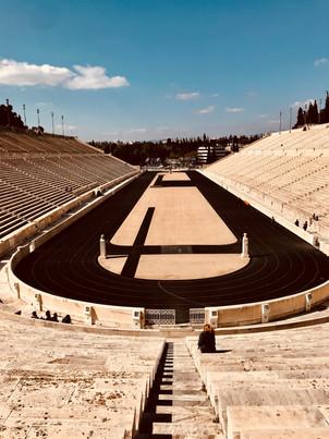 the panathetic stadium.