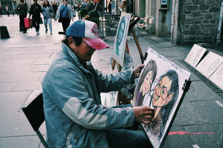street caricatures?