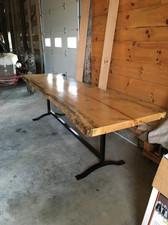 Pine Bar table