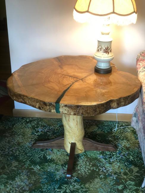 Ash Lamp Table