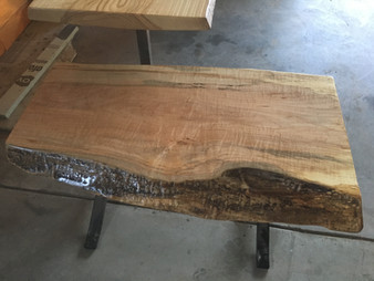 Curly Maple Bench
