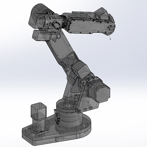 AR2 Complete SOLIDWORKS assembly and .STEP files