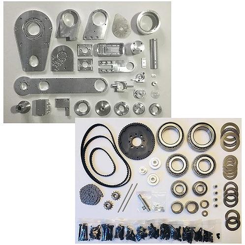 AR2 & AR3 Aluminum and Hardware Kits Combo