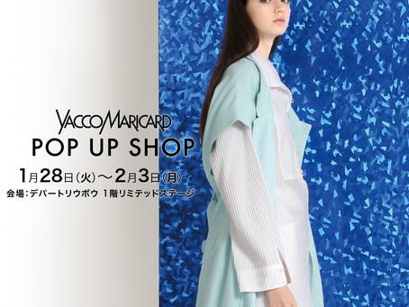 沖縄POP UP SHOP開催!