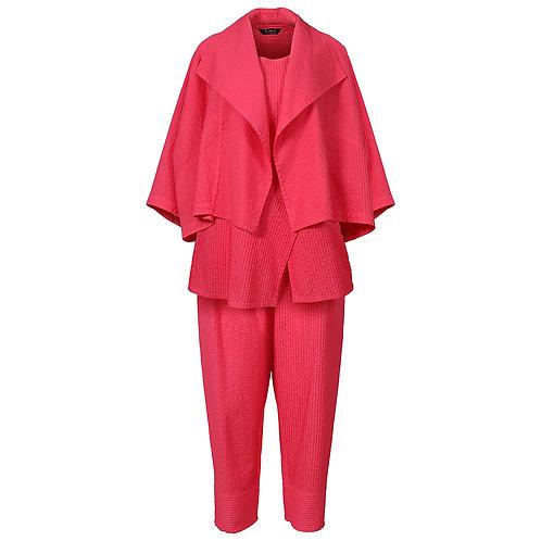 【3点セット】ジャケット+ノースリーブブラウス+パンツ