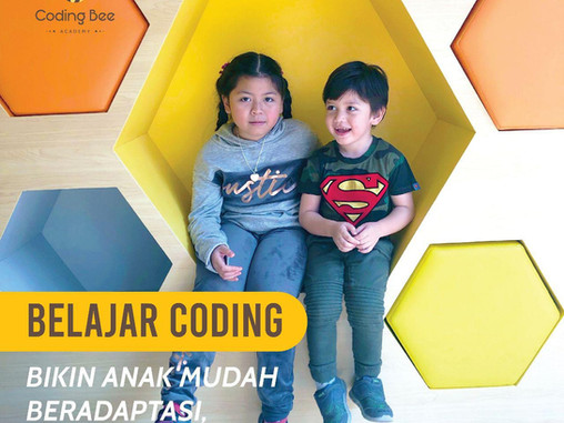Belajar Coding Bikin Anak Mudah Beradaptasi! Benarkah?