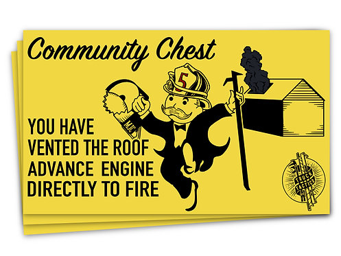 Community Chest Sticker 2 Pack