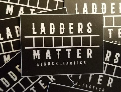 Ladders Matter Sticker 2 Pack
