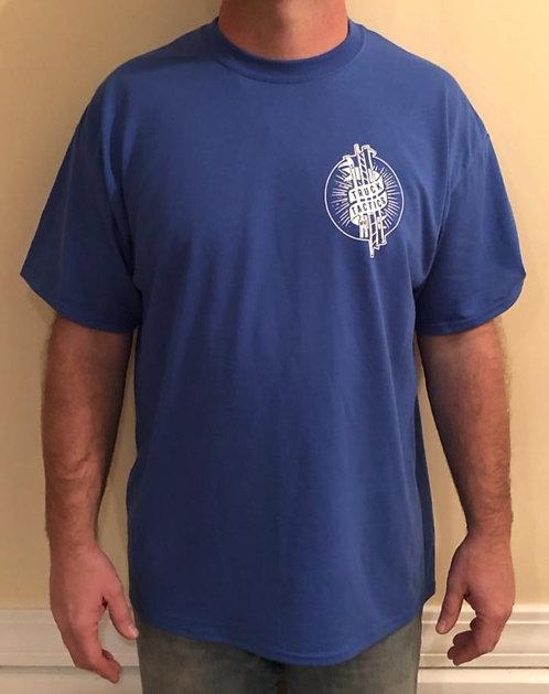 Tee Shirt - Black or Royal Blue