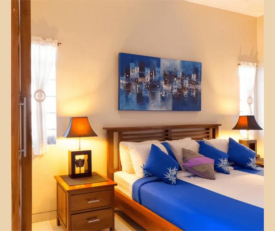 Blue Bedroom - Interior Design