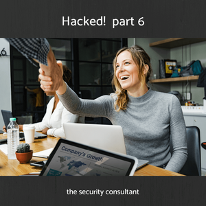"""Angela was angry and she wanted someone to blame. She was organising an audit of the computers but Gabe interrupted, """"Don't bother Angela, it's my fault. I've logged in from home and somehow . . . but I didn't transfer the money out. Harold the cyber security guy made time to see us.  #EarthComCyberStory #SalesManagementCRM #IdentifyTargetMarket #CyberSecurity"""