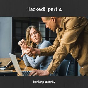 """""""So what's the story, Gabe? $140,000.00 transferred out of our account and you don't know where it's gone? You better tell me what's happening"""". #EarthComCyberStory #SalesManagementCRM #IdentifyTargetMarket #CyberSecurity"""