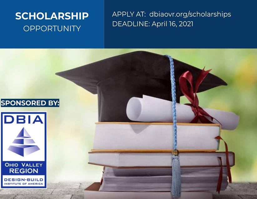 DBIA OVR Scholarship Flyer April 16 2021