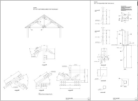 Timber shade structure engineer